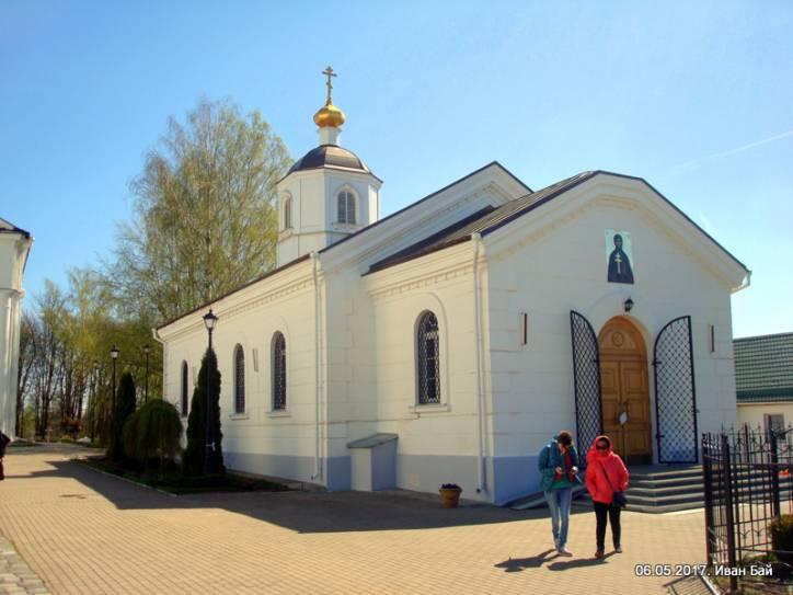 - Монастырь Спасо-Ефросиньевский. Трапезная (Тёплая) церковь
