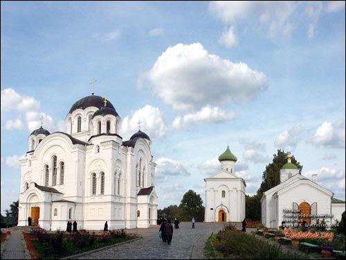 - Манастыр Спаса-Эўфрасіннеўскі. Агульны выгляд