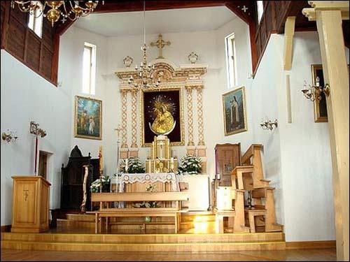 - Касцёл Святога Яна Хрысцiцеля. Галоўны алтар