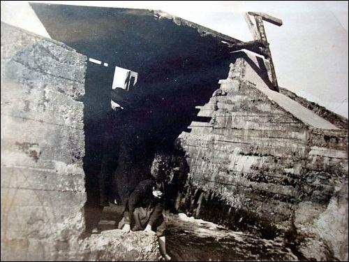 - Местечко на старых фотографиях . Мост через р.Дукшта за ставом(1950гг)