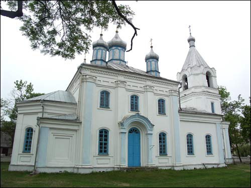 Motal.  Orthodox church of the Transfiguration