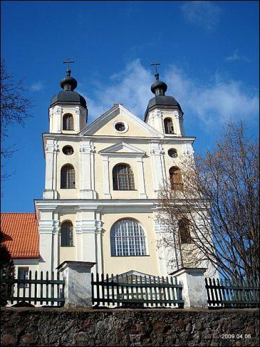 - Костёл Святой Троицы и кляштор тринитариев.