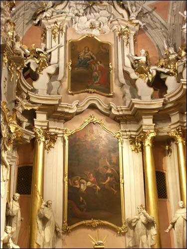 - Catholic church of St. Theresa (of the Carmelites). High altar. Fragment