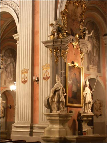 - Catholic church of St. Theresa (of the Carmelites). Interior, fragment