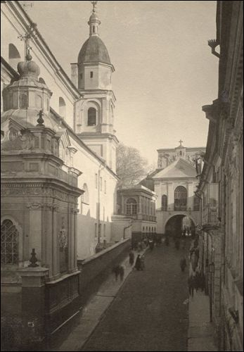 - Catholic church of St. Theresa (of the Carmelites). Photo by Jan Bulhak, 1914