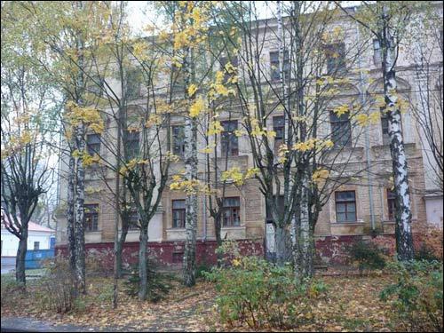 - Палац Сапегаў. Усходні фасад, фрагмент