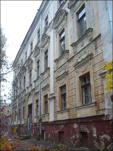 - Палац Сапегаў. Усходні фасад