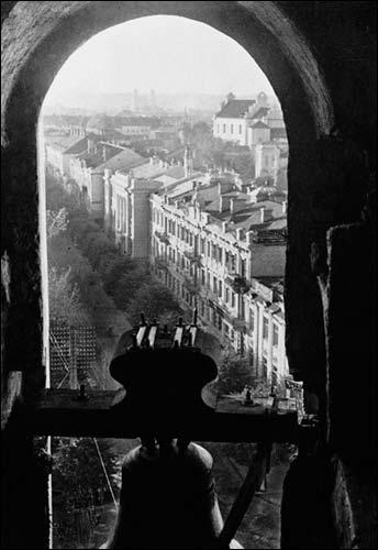 - . J. Bułhak. Widok z dzwonnicy katedry, 1916