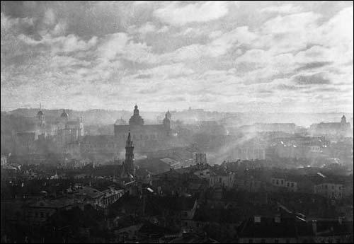 - . J. Bułhak. Panorama Wilna, 1918