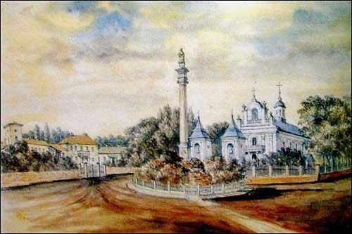 - . Dzygovka (Ukraine). Catholc church and Jaroszyński estate