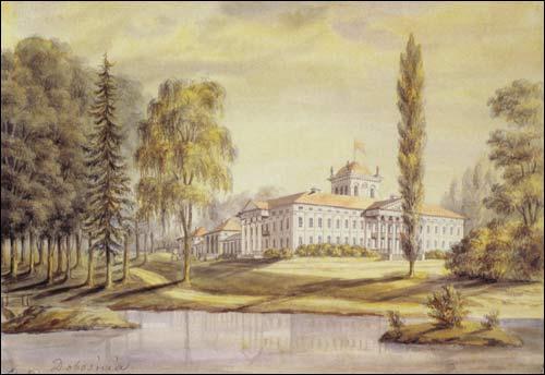 - . Dabośnia (Žyličy, Belarus). Bułhak estate