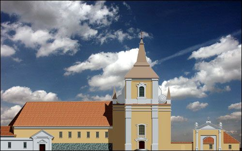 - Catholic church of the Holy Trinity and Monastery of Augustine.