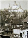 Davyd-Haradok - Orthodox church of the Resurrection. Church. Photo 1930th (fragment)