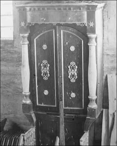 - Сінагога . Інтэр'ер. Арон Кадэш. Здымак Ш. Зайчыка (1930 г.). (www.szukamypolski.com)