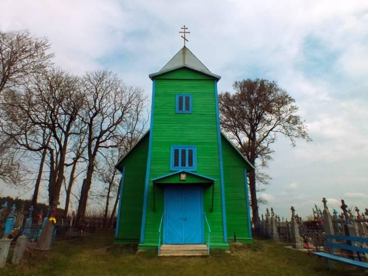 - Царква Святой Тройцы (могілкавая).