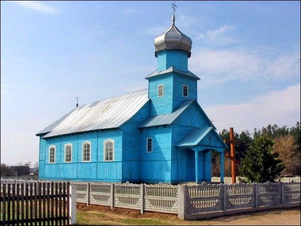 Dembrava. Orthodox church