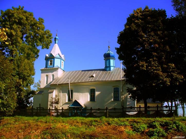 - Царква Покрыва Прасвятой Багародзіцы. Буховичи (церковь Покровская 1674г.)