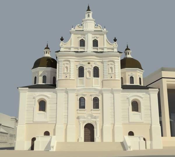 - Kościół i klasztor Dominikanów.