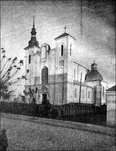 Костел св. Казимира в Столбах (фото 1930-хх)
