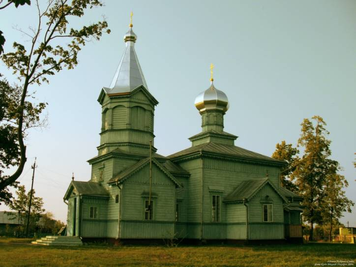 Dzivin. Orthodox church of the Protection of the Holy Virgin