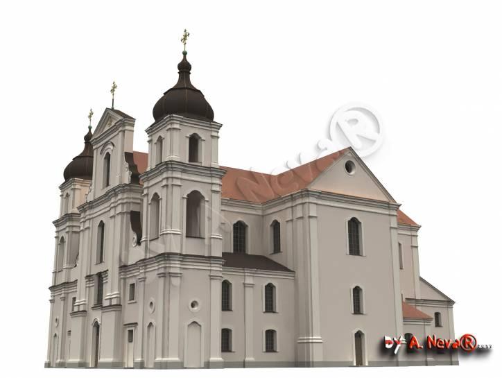 - Kościół Św. Luki i klasztor Dominikanów.