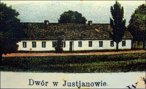 - Dwór Abłamowiczów. Zdjęcie dworu z kalendarza miasta Sejny (XIX w., z archiwum D. Abłamowicza)