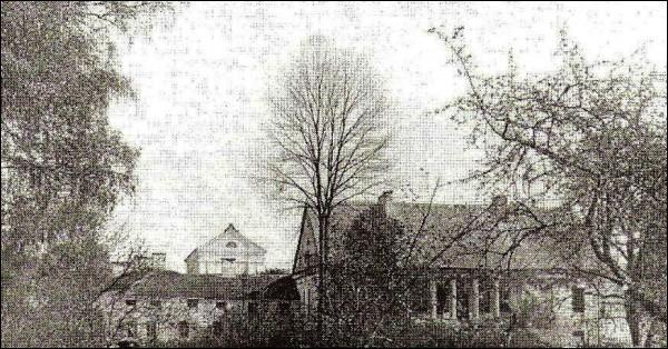 - Палац Агінскіх. Палац, выгляд ад возера. 1922