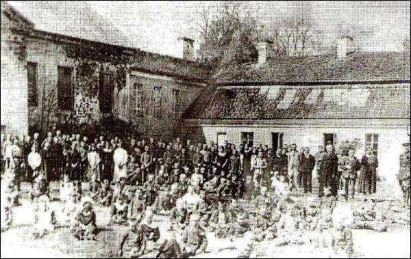 - Палац Агінскіх. Палацавы двор, 1922