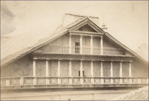 - Сінагога Вялікая. Франтон сынагогі. Фота Яна Булгака, 1915
