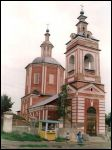 Bryansk town - Orthodox church of St. Nicholas