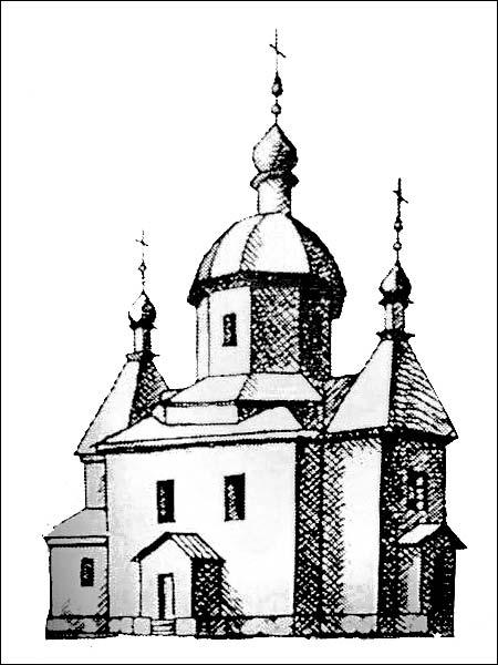 Barok (Basłavičy). Orthodox church