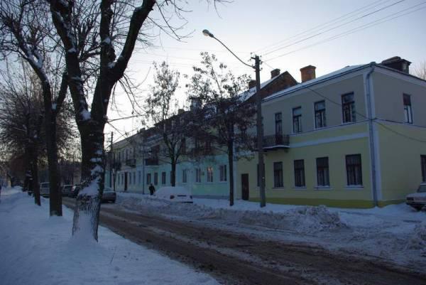 - Budynki zabytkowe ul. Sowieckich Pograniczników.