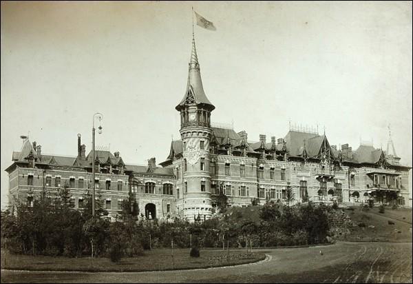 - Палац царскі. Царскі палац у Белавежы (фота да 1914г.)