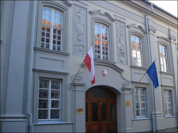 - Estate of Pac. Polish Embassy located in the former palace