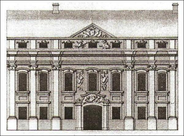 - Estate of Pac. Pac Palace in Vilnius (drawing from XIX century)