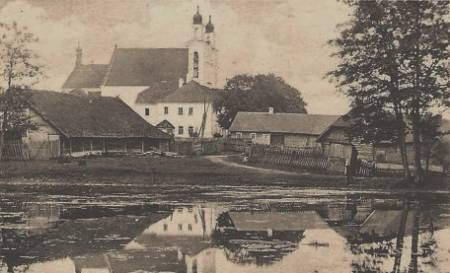 - Old photos of the township .