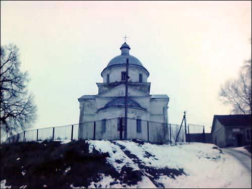 - Царква Святога Дзмітрыя Салунскага. Выгляд ад усходу