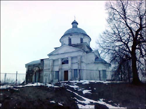 - Царква Святога Дзмітрыя Салунскага. Выгляд ад поўдня