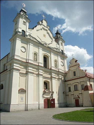 - Catholic church of the Assumption of the Blessed Virgin Mary. Main facade