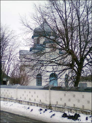 - Orthodox church of St. Anne. View from the road