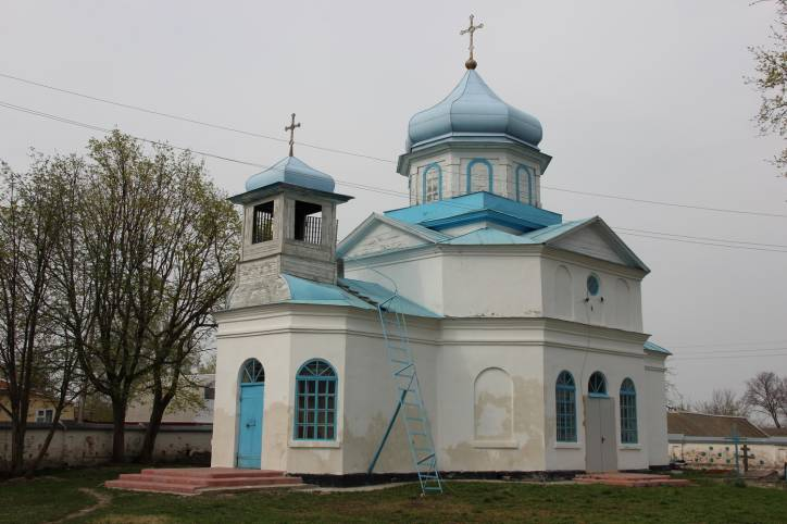 - Orthodox church of St. Anne. Exterior