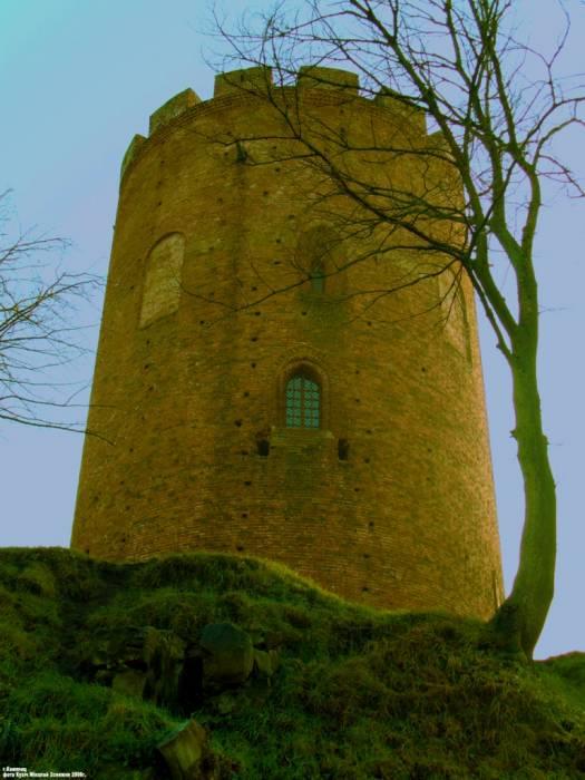 -  Камянецкая Вежа (Белая). Каменец (башня-донжон 1276-88гг.)