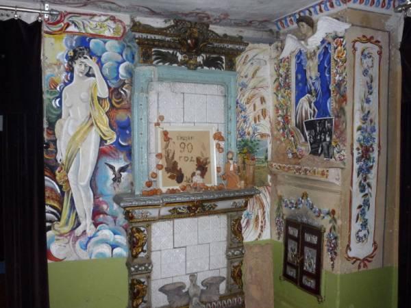 -  Дом-музей Аполлинария Пупко. Фрагмент интерьера дома-музея Апполинария Пупко в Ивенце