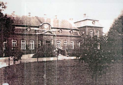 - Dwór Wańkowiczów. Nowy pałac w neobarokowym stylu w Rudakowie Wańkowiczowie wybudowali w 1909 roku