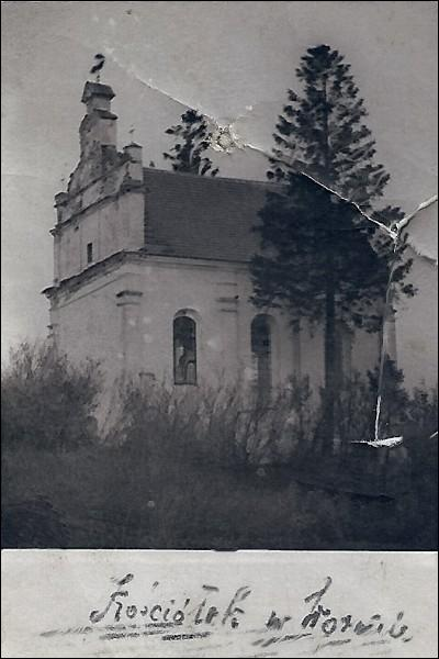 - Catholic church of St. George. Church at photo before 1939