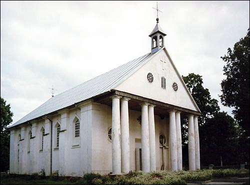 Novaja Myš. Catholic church of the Transfiguration of the Lord