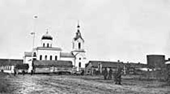 Kasciukovičy.  Orthodox church