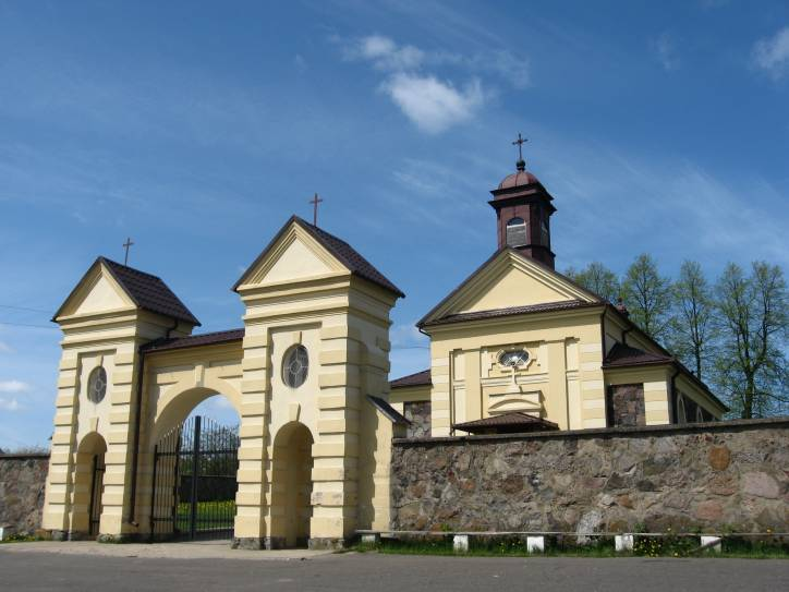 Kanstancinava. Catholic church of the Assumption of the Blessed Virgin Mary