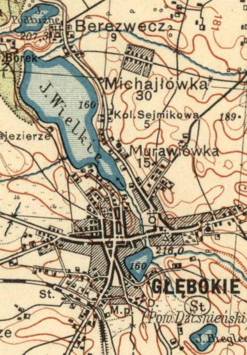 Лакалізацыя капліцы святога Крыжа на мапе