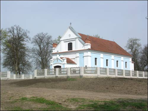 Małyja Ščytniki. Orthodox church of the Protection of the Holy Virgin